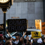 Women's March on London: a demo against Donald Trump's definition of respect