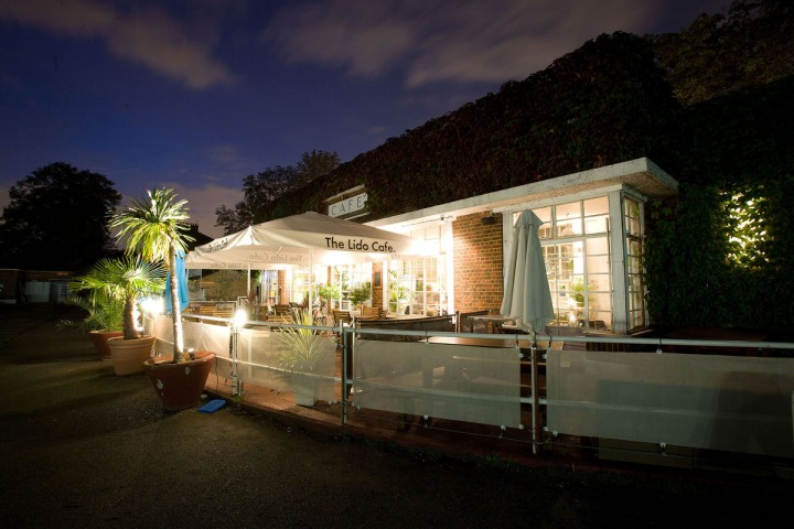 Lido Cafe by night. Photo: PR