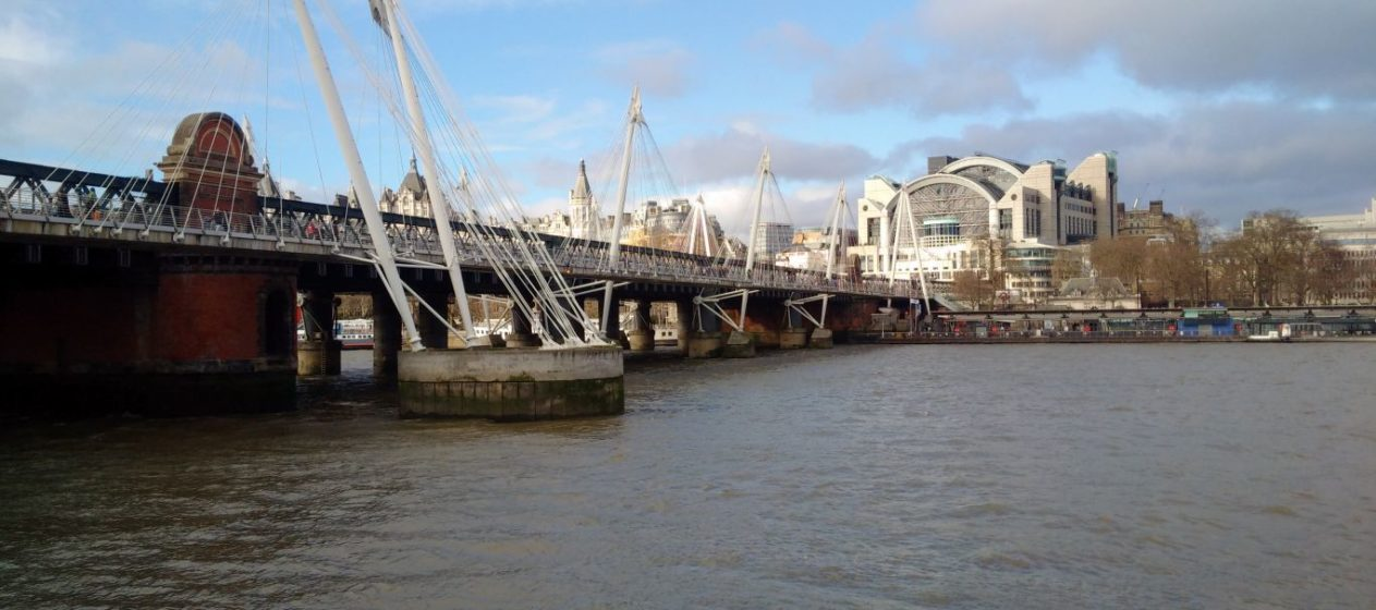 The South Bank: viewing platform to the north. Photo: Seren