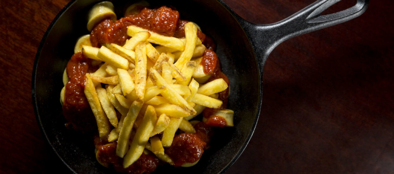 Feeling peckish? The currywurst. Photo: PR