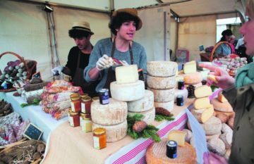 Everything from cheese to vinyl will be on offer at the new monthly Canopy Markets. Photo: PR