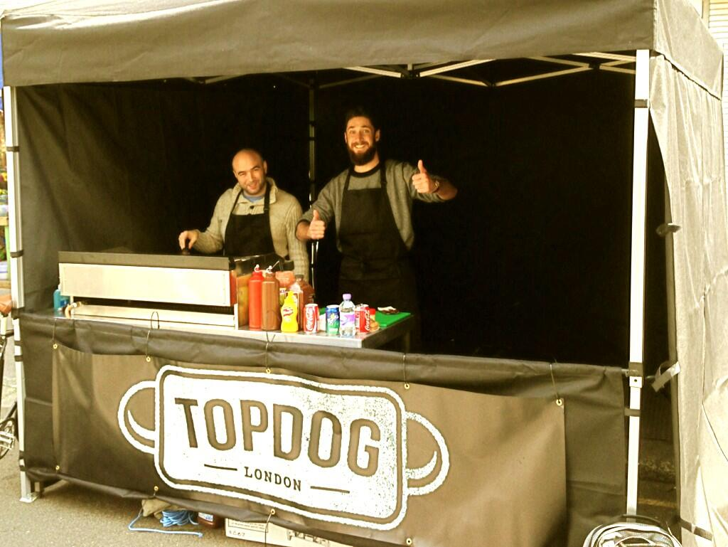 Top Dog's Mike & Chris. Photograph: Top Dog.