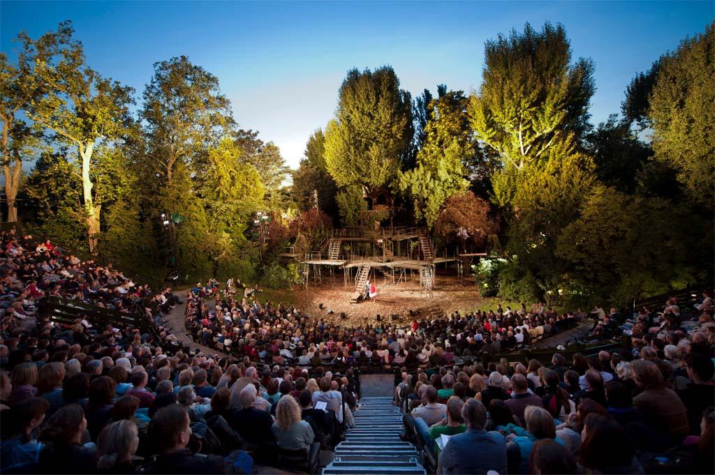 Regent's Park Open Air Theatre in full swing. Photo: David Jensen