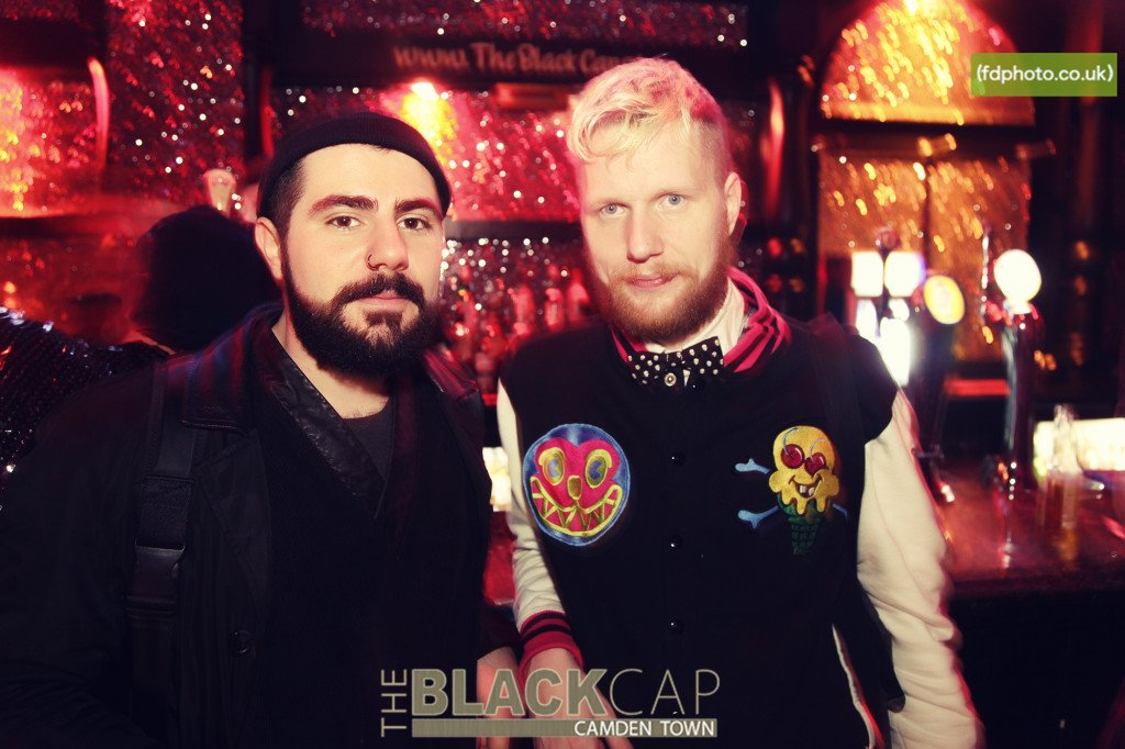Boys at the Black Cap. Photo: BC