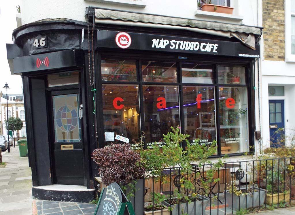 Waaahhhh. Map Cafe, back in biz. Photo: Tom Kihl