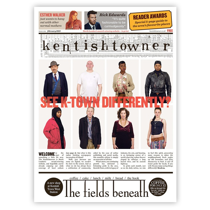 Kentishtowner in print – issue 1