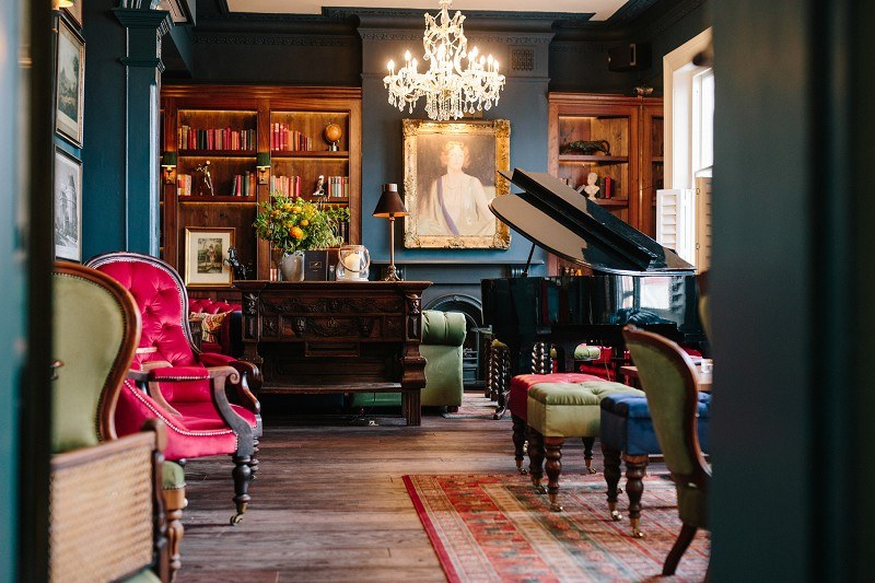 Elegant: the new Boulogne Bar with views over Kentish Town Road. Photo: PR