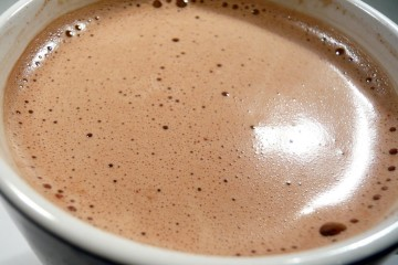 A cup of hot chocolate. But who's the don in and around the neighbourhood?