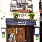 What's going on with Andy's Greek Taverna then?