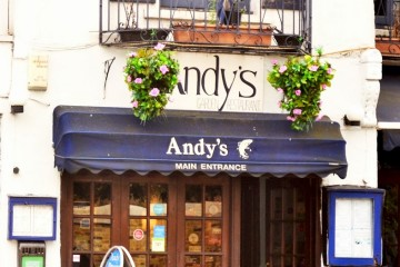 Andy's Taverna has been open since 1967. Photo: Betty's Journal