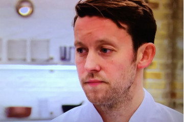 Cheer up Mark, you're cooking up a storm! Image: BBC
