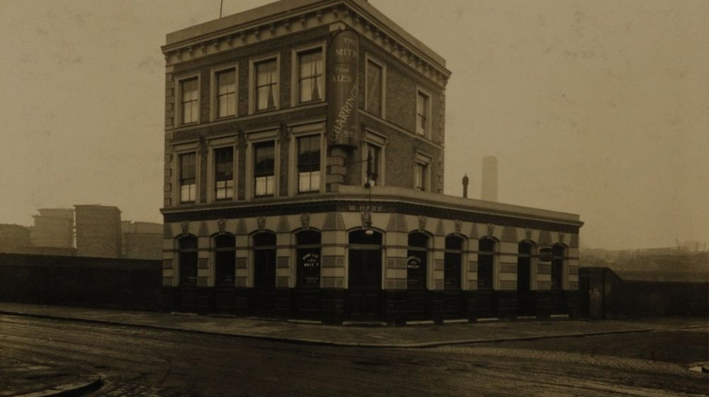 Mitre, 242 Grafton Road NW5. It's since been converted into flats. Photo:  Charrington Brewery