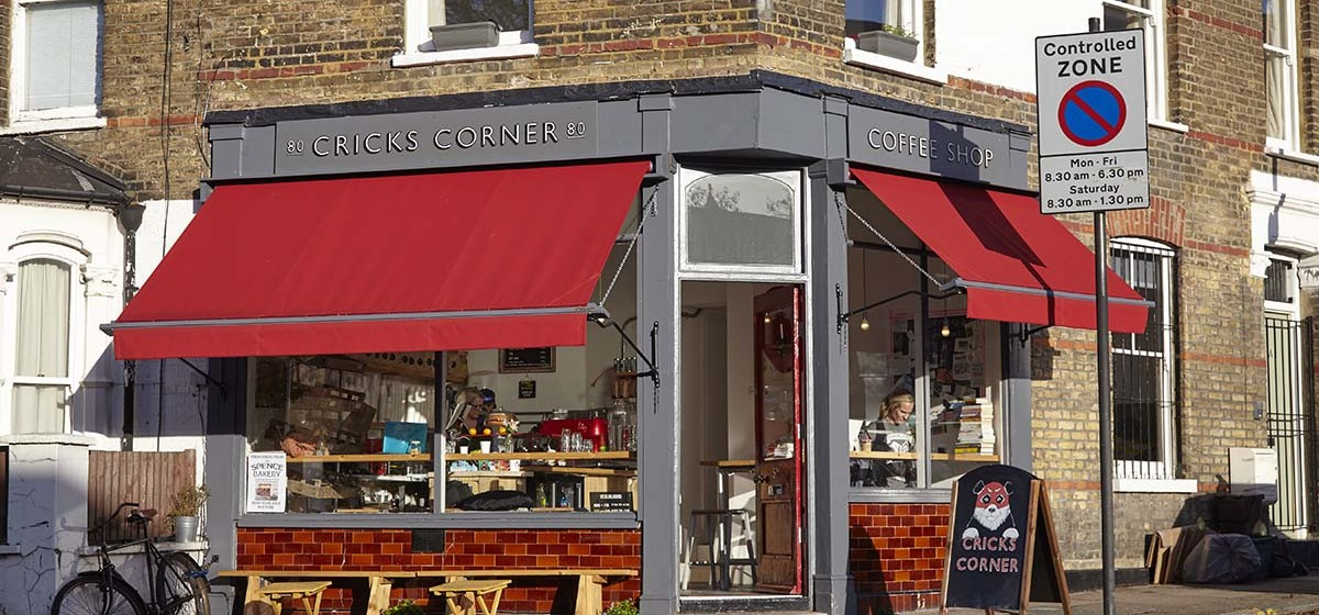 Welcoming: the suntrap spot on Dartmouth Park Hill. Photo: CC