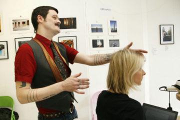 Conrad assesses Sarah's cut