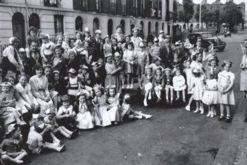 Jeffreys St, Coronation 1953. Photo: Joan and Graham Fee