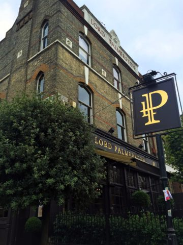 Imposing: the Lord P is a towering presence on the hill up to Highgate. Photo: SE
