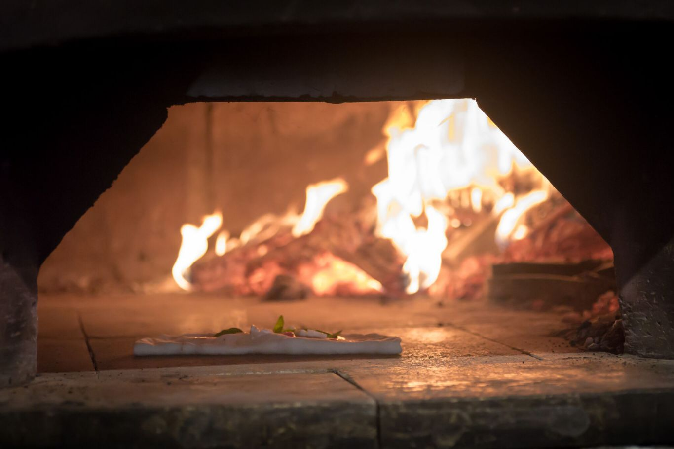 The stone-baked oven. Photo: PDC