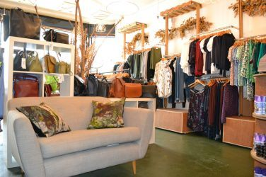 Vegan clothing and footwear at The Third Estate, Brecknock Road