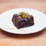 Why We Love: #5,  Bestowed Kitchen's Earl Grey chocolate brownie