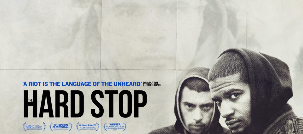 The movie poster for The Hard Stop.